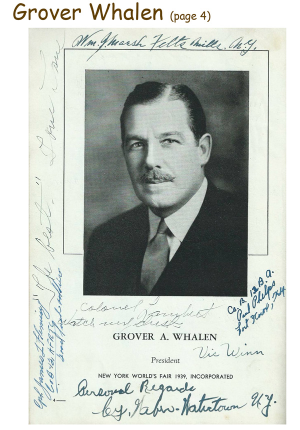 Signed 1939 Guide Book