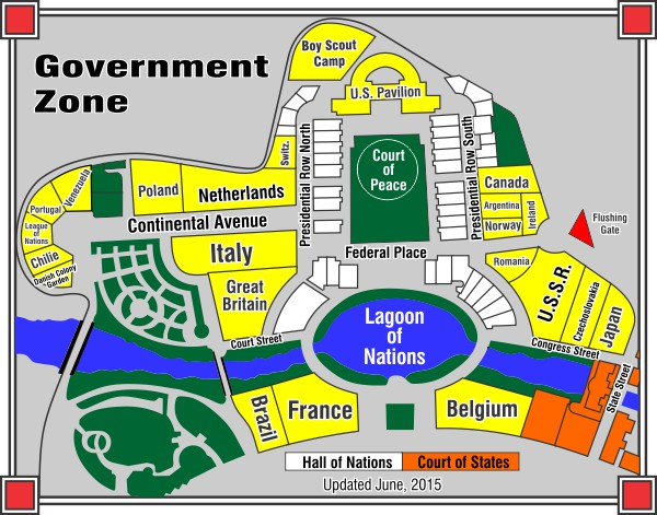 Government Zone Map