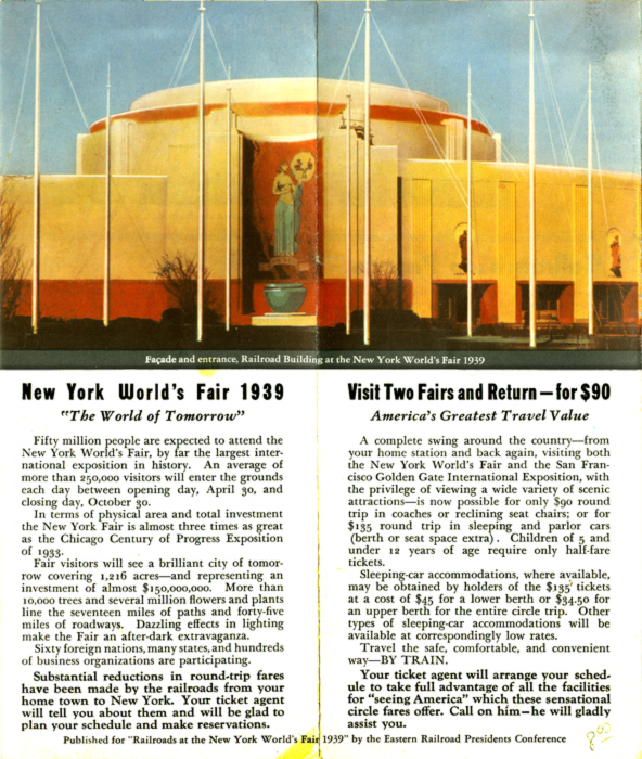 Railroads at the 1939 New York World's Fair